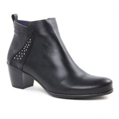 Dorking 7575 Noir : chaussures dans la même tendance femme (boots-talon noir) et disponibles à la vente en ligne