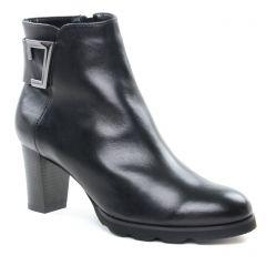 boots-talon noir: même style de chaussures en ligne pour femmes que les Pikolinos