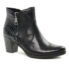 boots-talon noir: même style de chaussures en ligne pour femmes que les Laura Vita