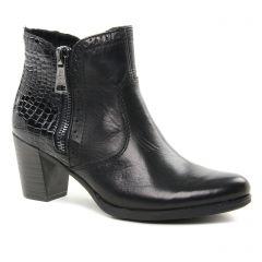 Chaussures femme hiver 2018 - boots talon rieker noir