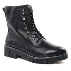 Chaussures femme hiver 2018 - boots talon tamaris noir