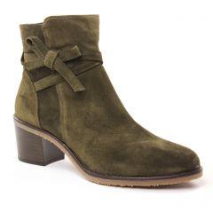 boots-talon vert kaki: même style de chaussures en ligne pour femmes que les Dorking