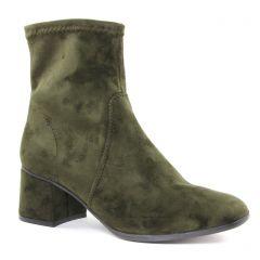 boots-talon vert: même style de chaussures en ligne pour femmes que les Tamaris