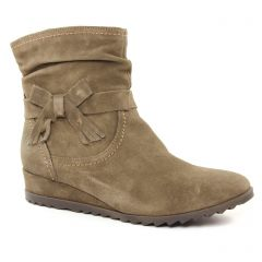 Chaussures femme hiver 2018 - boots tamaris taupe beige