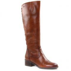 bottes-confort marron: même style de chaussures en ligne pour femmes que les Tamaris