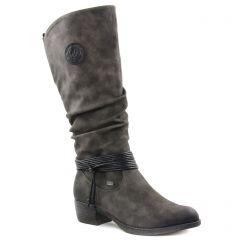 Chaussures femme hiver 2018 - bottes rieker gris