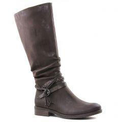 bottes marron doré: même style de chaussures en ligne pour femmes que les Marco Tozzi