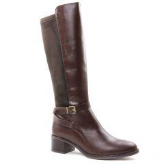 bottes marron: même style de chaussures en ligne pour femmes que les Tamaris