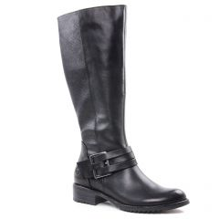 Chaussures femme hiver 2018 - bottes marco tozzi noir