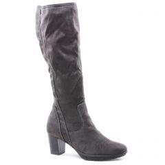 bottes-stretch gris: même style de chaussures en ligne pour femmes que les Tamaris
