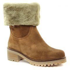 bottillons marron: même style de chaussures en ligne pour femmes que les Tamaris