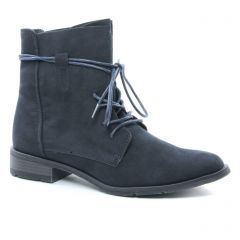 bottines-a-lacets bleu marine: même style de chaussures en ligne pour femmes que les Les Tropéziennes