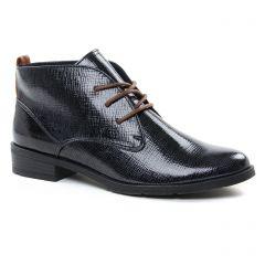 bottines-a-lacets bleu marine: même style de chaussures en ligne pour femmes que les Remonte