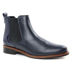 bottines-a-lacets bleu marine: même style de chaussures en ligne pour femmes que les Scarlatine