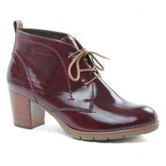 bottines-a-lacets bordeaux: même style de chaussures en ligne pour femmes que les Mtng