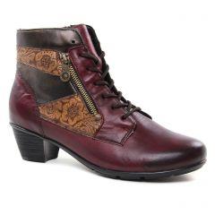 Remonte R7570 Chianti : chaussures dans la même tendance femme (bottines-a-lacets bordeaux) et disponibles à la vente en ligne