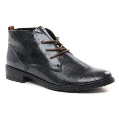 Marco Tozzi 25120 Black : chaussures dans la même tendance femme (bottines-a-lacets gris argent) et disponibles à la vente en ligne