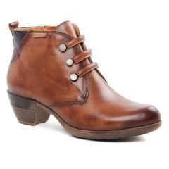 bottines-a-lacets marron: même style de chaussures en ligne pour femmes que les Pikolinos