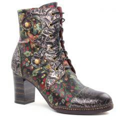 bottines-a-lacets multicolore: même style de chaussures en ligne pour femmes que les Laura Vita