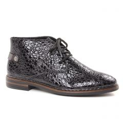 Rieker 50630-46 Granit : chaussures dans la même tendance femme (bottines-a-lacets noir gris) et disponibles à la vente en ligne