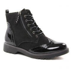 Marco Tozzi 25270 Black : chaussures dans la même tendance femme (bottines-a-lacets noir) et disponibles à la vente en ligne