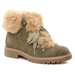 bottines-a-lacets vert: même style de chaussures en ligne pour femmes que les Mtng