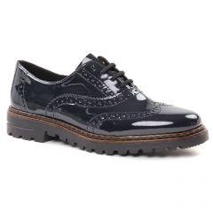 richelieus bleu marine: même style de chaussures en ligne pour femmes que les Rieker