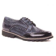 derbys bleu vernis: même style de chaussures en ligne pour femmes que les Fugitive