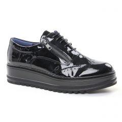derbys-talons-compenses noir: même style de chaussures en ligne pour femmes que les Émilie Karston