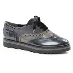 Chaussures femme hiver 2018 - derbys marco tozzi gris