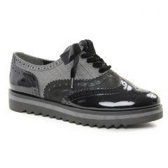 derbys gris noir: même style de chaussures en ligne pour femmes que les Marco Tozzi