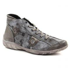 Remonte R3492-45 Fumo : chaussures dans la même tendance femme (baskets-mode gris) et disponibles à la vente en ligne