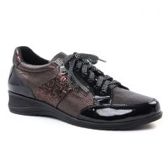 tennis marron noir: même style de chaussures en ligne pour femmes que les Marco Tozzi