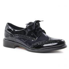 derbys noir bleu: même style de chaussures en ligne pour femmes que les Scarlatine