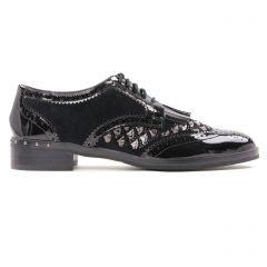 derbys noir gris: même style de chaussures en ligne pour femmes que les Mamzelle