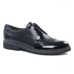 Tamaris 23711 Black Comb : chaussures dans la même tendance femme (derbys noir metal) et disponibles à la vente en ligne