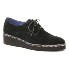 derbys noir: même style de chaussures en ligne pour femmes que les Maria Jaén
