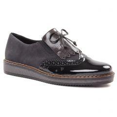 derbys noir: même style de chaussures en ligne pour femmes que les Rieker