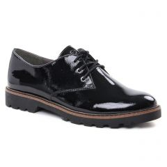 Tamaris 23742 Black Patent : chaussures dans la même tendance femme (derbys noir) et disponibles à la vente en ligne