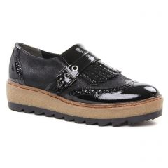 derbys noir: même style de chaussures en ligne pour femmes que les Geo Reino