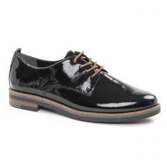 derbys noir vernis: même style de chaussures en ligne pour femmes que les Marco Tozzi