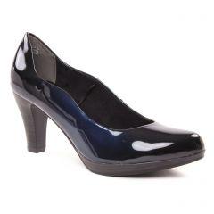 Chaussures femme hiver 2018 - escarpins marco tozzi bleu