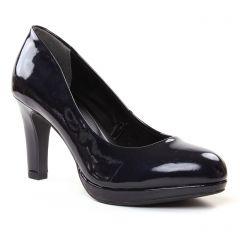 escarpins bleu vernis: même style de chaussures en ligne pour femmes que les Marco Tozzi