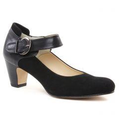 Chaussures femme hiver 2018 - escarpins brides Perlato noir