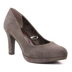 escarpins gris beige: même style de chaussures en ligne pour femmes que les Marco Tozzi