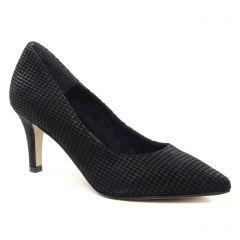 escarpins noir gris: même style de chaussures en ligne pour femmes que les Tamaris