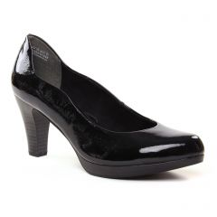 escarpins noir vernis: même style de chaussures en ligne pour femmes que les Tamaris
