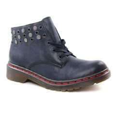 bottines-a-lacets bleu marine: même style de chaussures en ligne pour femmes que les Dorking