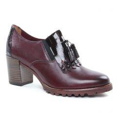 low-boots bordeaux: même style de chaussures en ligne pour femmes que les Tamaris