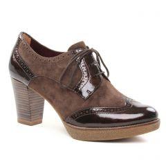 low-boots marron: même style de chaussures en ligne pour femmes que les Les Tropéziennes